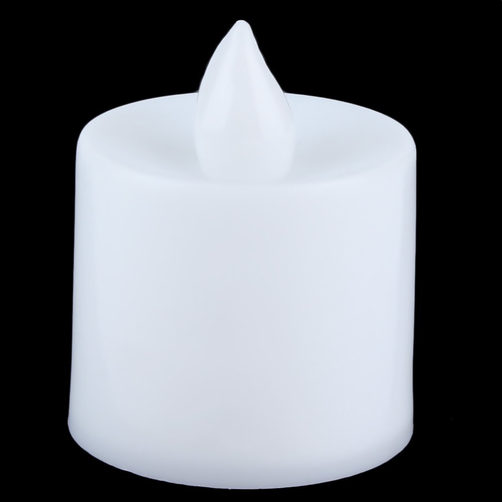 Superior Romance LED Flash Flameless Candle Light Lamp For Birthday Dinner Spa Party Pub Room Decoration