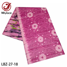 Latest Basin Riche Getzner High Quality Polyester Cotton Bazin Riche Senegal Guinea Brocade Fabric for Women Man Clothes LBZ 27