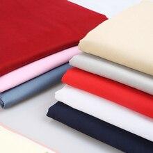50cm/100cm Cotton/Satin Cloth Pure Cotton White Black Lining Clothing Lining Clothing Fabric Pure Color Skirt Lining Cloth