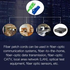 Image 3 - Frete grátis! 10 pçs SC LC 3m simples único modo de fibra óptica cabo remendo sc/APC LC/upc 3m 2.0mm 3.0mm ftth fibra cabo remendo