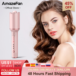 AmazeFan Automatic Curling Iron Rotating Professional Curler Styling Tools for Curls Waves Ceramic Curly Magic hair curler