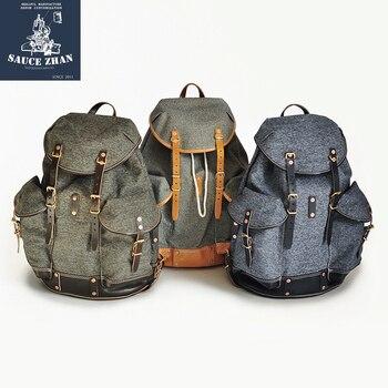 SAUCE ORIGIN Pepper Salt Backpack Swiss Army Backpack Travel Backpack Backpack Men Denim Backpack Luxury Backpack back pack фото