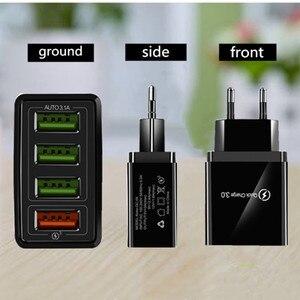 Image 5 - Usb 충전기 빠른 충전 3.0 빠른 충전기 qc 4.0 아이폰 7 xr x에 대 한 벽 휴대 전화 충전기 삼성 xiaomi eu/us 플러그 어댑터