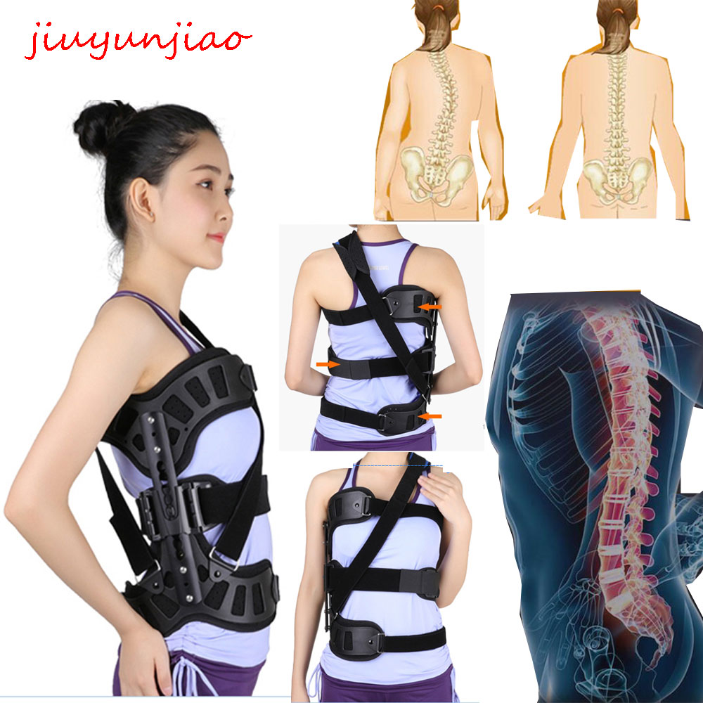 New Scoliosis Posture Corrector Adjustable Spinal Auxiliary Orthosis for Back Postoperative Recovery Men and Women Supports