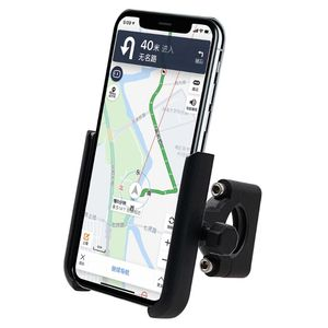 Image 3 - 360 Degree Universal Metal Bike Motorcycle Motorbike Mirror Handlebar Smart Phone Holder Stand Mount For iPhone Xiaomi Samsung 4