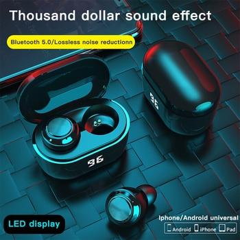 A6 TWS True Wireless Bluetooth Earphones Mini 5.0 In-Ear For Sports Earbuds Gaming