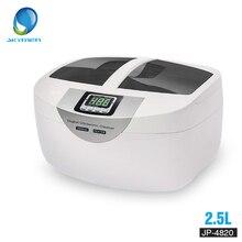 ดิจิตอลอัลตราโซนิกทำความสะอาดตะกร้านาฬิกาข้อมือทันตกรรม 2.5L 60W 40kHz เครื่องทำความร้อนอัลตราซาวด์ทำความสะอาดผัก Bath