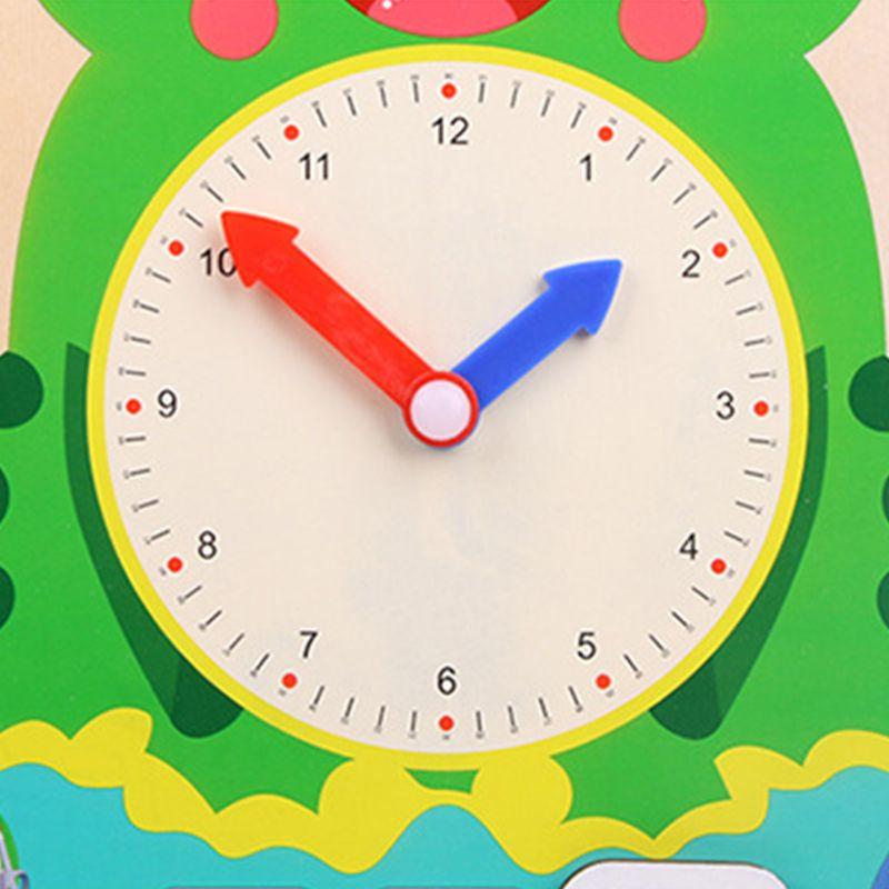 Multifuncional calendário relógio de aprendizagem educacional precoce