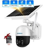 3MP pannello solare Wireless IP Camera Smart Home Detection protezione di sicurezza CCTV Cam Cloud Record Video WiFi telecamera di sorveglianza