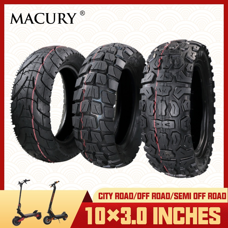 10x3 inch Off Road City Road Pneumatic Tire Inner Tube Inflatable Tyre for Electric Scooter Speedual Grace 10 Zero 10X 10 * 3.0 Scooter Parts & Accessories     - title=