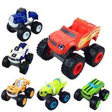 Jouets voitures pour enfant, véhicules broyeurs de camions, Monstere Machines, figurines cadeaux d'anniversaire, Blazed, russe, miracle