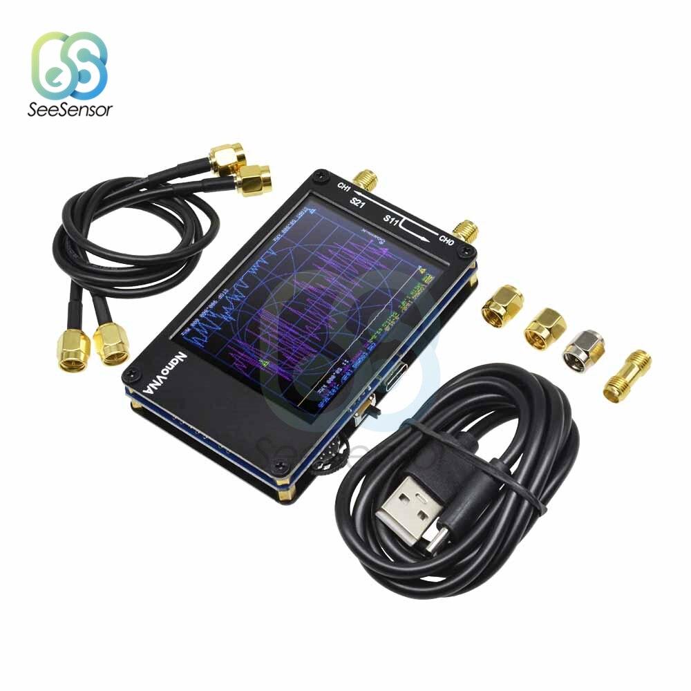 2.8 インチ TFT NanoVNA ベクトルネットワークアナライザーアンテナアナライザーデジタル感動画面短波 MF HF VHF UHF 50 125khz の 900MHz