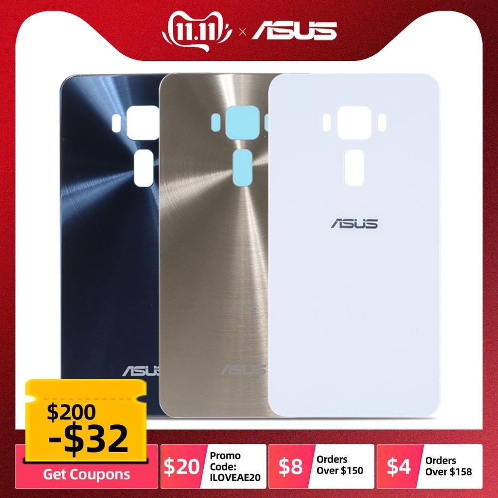 ORIGINAL Rear Back Housing For Asus ZenFone 3 Lite ZE520KL Back Glass Battery Cover Replacement Z017D Z017DA Z017DB