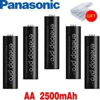 Panasonic Eneloop batterie d'origine Pro AA 1.2V 2500mAh NI-MH caméra lampe de poche jouet Batteries rechargeables préchargées