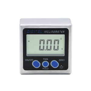 Image 2 - Mini electronic digital protractor digital angle finder magnetic base inclinometer angle tool measuring tools