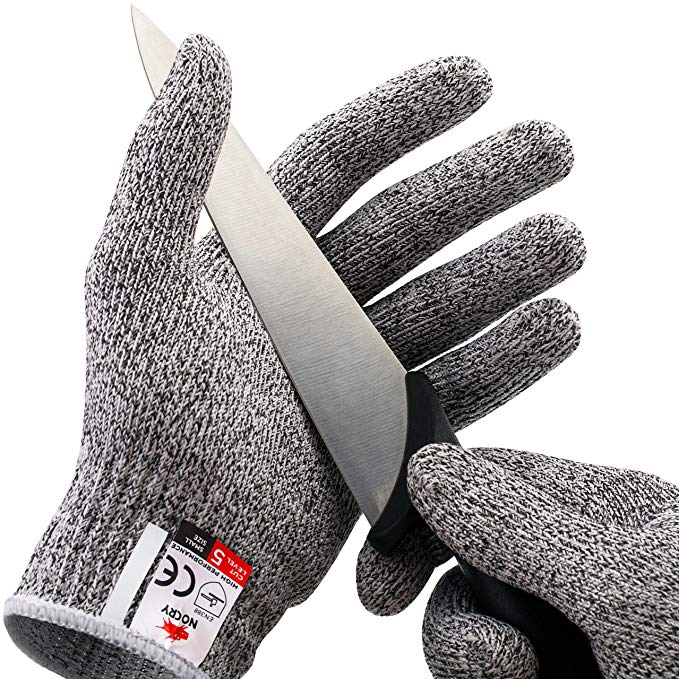 New Anti-cut Gloves Safety Cut Proof Stab Resistant Stainless Steel Wire Metal Mesh Kitchen Butcher Cut-Resistant Safety Gloves