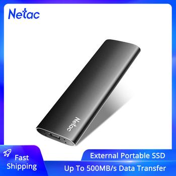 Zewnętrzny dysk SSD Netac 500GB 250GB przenośny dysk SSD 1TB 2TB zewnętrzny dysk twardy SSD USB 3 2 typ C zewnętrzny dysk półprzewodnikowy do laptopa tanie i dobre opinie Rohs CN (pochodzenie) 1 8 USB 3 1 typu C Pulpit Serwer Portable SSD Zslim Up to 500MB s(for reference only) Support 3 years