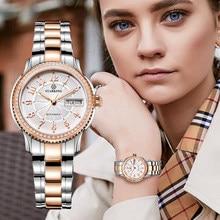 STARKING – montre-Bracelet miyoka Movt pour femmes, en acier inoxydable, saphir, automatique, à remontage automatique