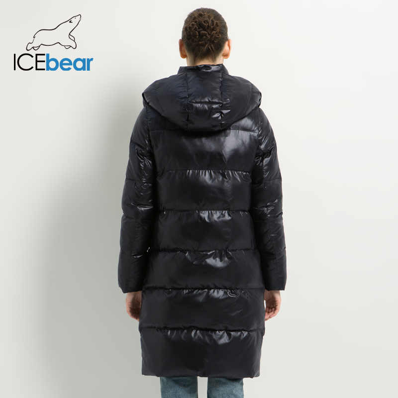 2019 nueva chaqueta de invierno de mujer de moda de algodón de alta calidad Parkas femeninas con capucha abrigos de Mujer ropa de marca GWD19501