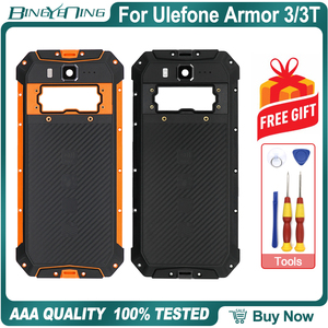 Image 1 - 100% New Original For Ulefone Armor 3/3T Battery cover Back housing case with NFC Wireless Charging Camera lens Phone Accessory