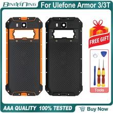 100% Ulefone Armor 3/3T 배터리 커버 백 하우징 케이스 NFC 무선 충전 카메라 렌즈 폰 액세서리