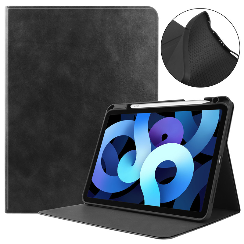 Black White Tablet Case With Pencil Holder Fundas For Apple IPad Air 4 Case 10 9 inch 2020