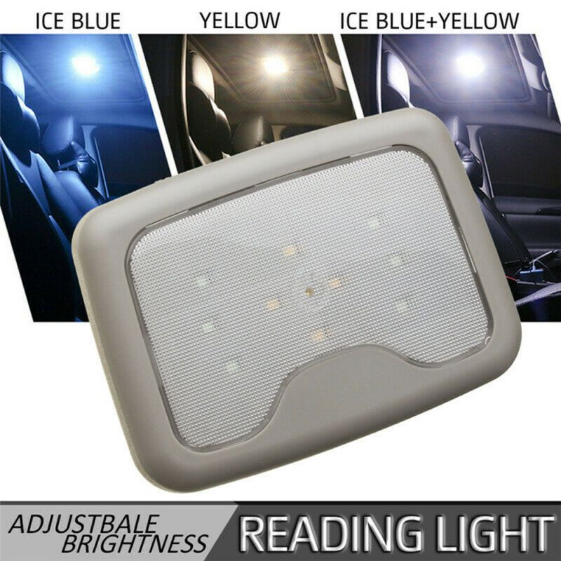 Car Ceiling Reading Light Car Magnetic Roof Light USB Charging Rear Row LED Car Interior Reading Lamp For Trunk Home