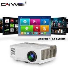 A3/A3AB портативный светодиодный мини-проектор для домашнего кинотеатра, ЖК-проектор, Android 6,0, Wi-Fi, Bluetooth, беспроводная синхронизация видео, смартфон