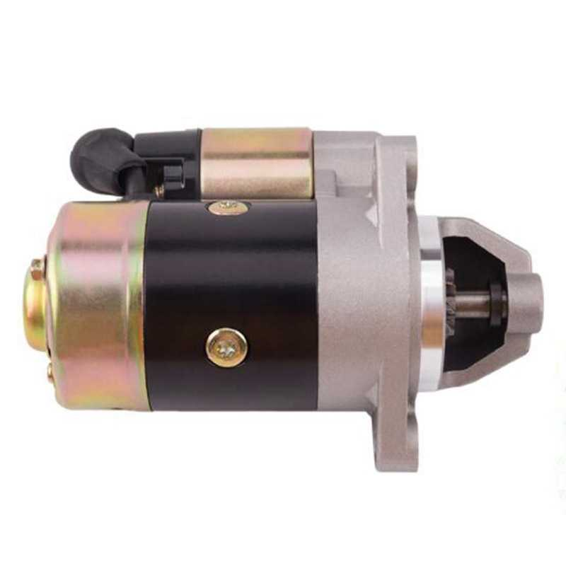 QD114A Diesel Engine Motor Starter 12V 0.8KW Copper Used on 170F 178F 186F Engine Starter Motor Generator Parts For Dropshipping