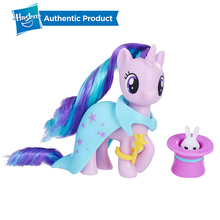 Hasbro My Little Pony School of Friendship Rarity Starlight Glimmer Applejack Action Figure Collection Model For Kids Gifts Doll недорого