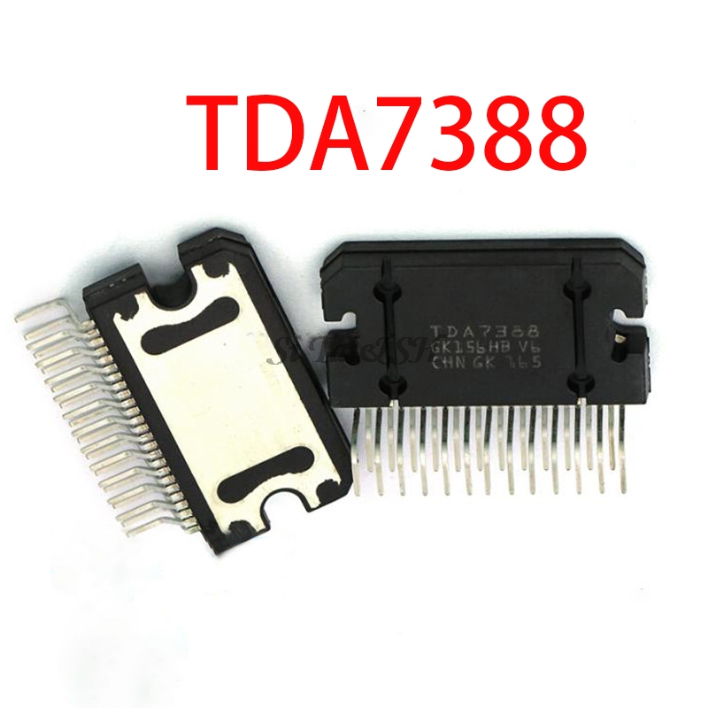 2PCS TDA7388 ZIP25 TDA7388A ZIP 7388A ZIP-25 42W Quad Bridge Car Radio Amplifier New And Original