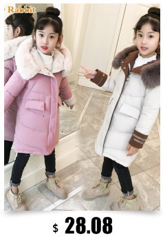 Hf2c99ad2d73e443c96a8eb05d3945858L Baby boy girl Clothes 2019 New born Winter Hooded Rompers Thick Cotton Outfit Newborn Jumpsuit Children Costume toddler romper