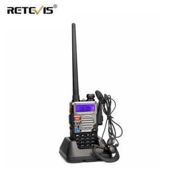 Retevis RT-5RV Walkie Talkie VHF UHF Dual Band 5W VOX Handheld 2 Way Radio Transceiver cb Radio Comunicador RT5RV Walkie-Talkie