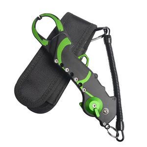 Image 2 - Алюминиевый рыболовный захват для губ, складное оборудование, инструменты, инструмент для удаления крючков, рыболовные плоскогубцы, ножницы для резки лески, аксессуары для рыбы