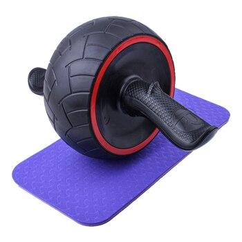 Ab Power Wheel Roller Ab Wheels Sports Equipment cb5feb1b7314637725a2e7: Black