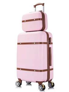 KLQDZMS Trolley Suitcase Luggage-Set Cosmetic-Bag Wheeled Travel Women 26inch with 20-22-24-