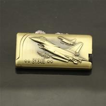 Боевое Оружие Модель газовая зажигалка с дозаправкой модные Подводные сигареты металлические зажигалки защищенный от ветра для курения зажигалка с абразивным кругом