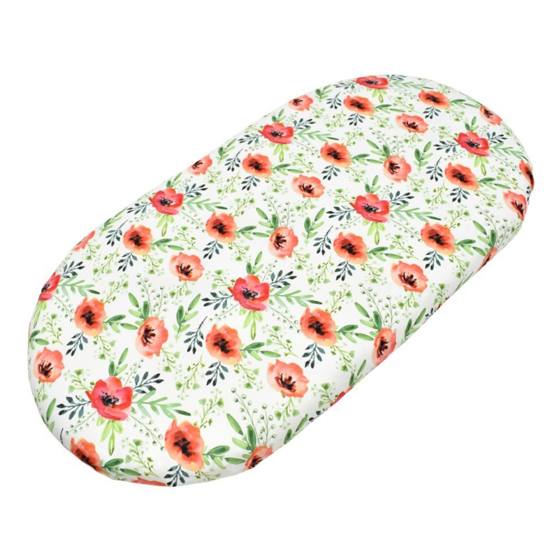 Crib Changing Table Pad Cover Baby Moses Basket Sheet Cradle Bedding Protector H055