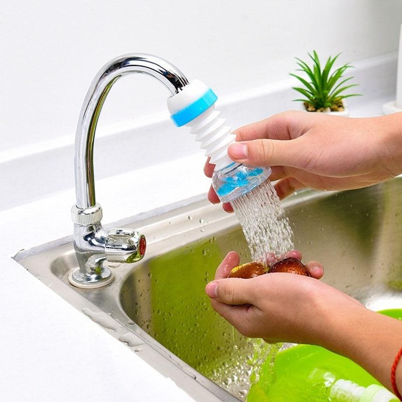 Faucet Filter Splash Shower Tap Kitchen Water Filter Purifier Nozzle Water Saver SP99