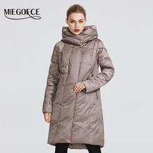 MIEGOFCE 2019 เสื้อแจ็คเก็ตสตรีฤดูหนาวคอลเลกชัน WARM Coat กับผิดปกติการออกแบบและสี Parka ช่วยให้ Charm และ Elegance เหมาะสำหรับ