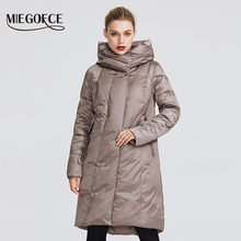 MIEGOFCE 2019 Winter Jacket Womens Collection Warm Coat With Unusual Design and Colors Parka Gives Charm and Elegance Suitable