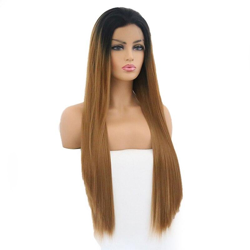 laço para perucas de cabelo de fibra