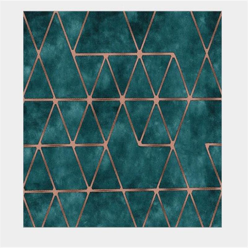 AOVOLL коврики и ковры для дома, гостиной, современный ретро-американский стиль, геометрический дверной коврик для спальни, ковер для детской комнаты - Цвет: A