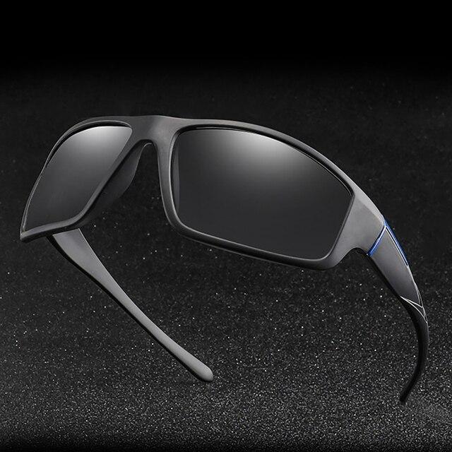 VIVIBEE Photochromic Matte Black Sports Sunglasses 6