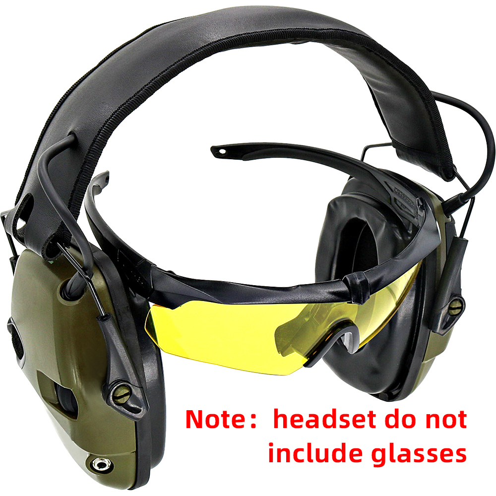 Electronic Shooting Earmuffs Noise Reduction Sound Amplification Hearing Protection Sightlines Ear Pads Tactical Headset