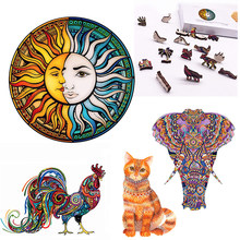 Puzzle Toy 3D Wooden Jigsaw Puzzles Interesting For Adults Kids Gifts Educational Games