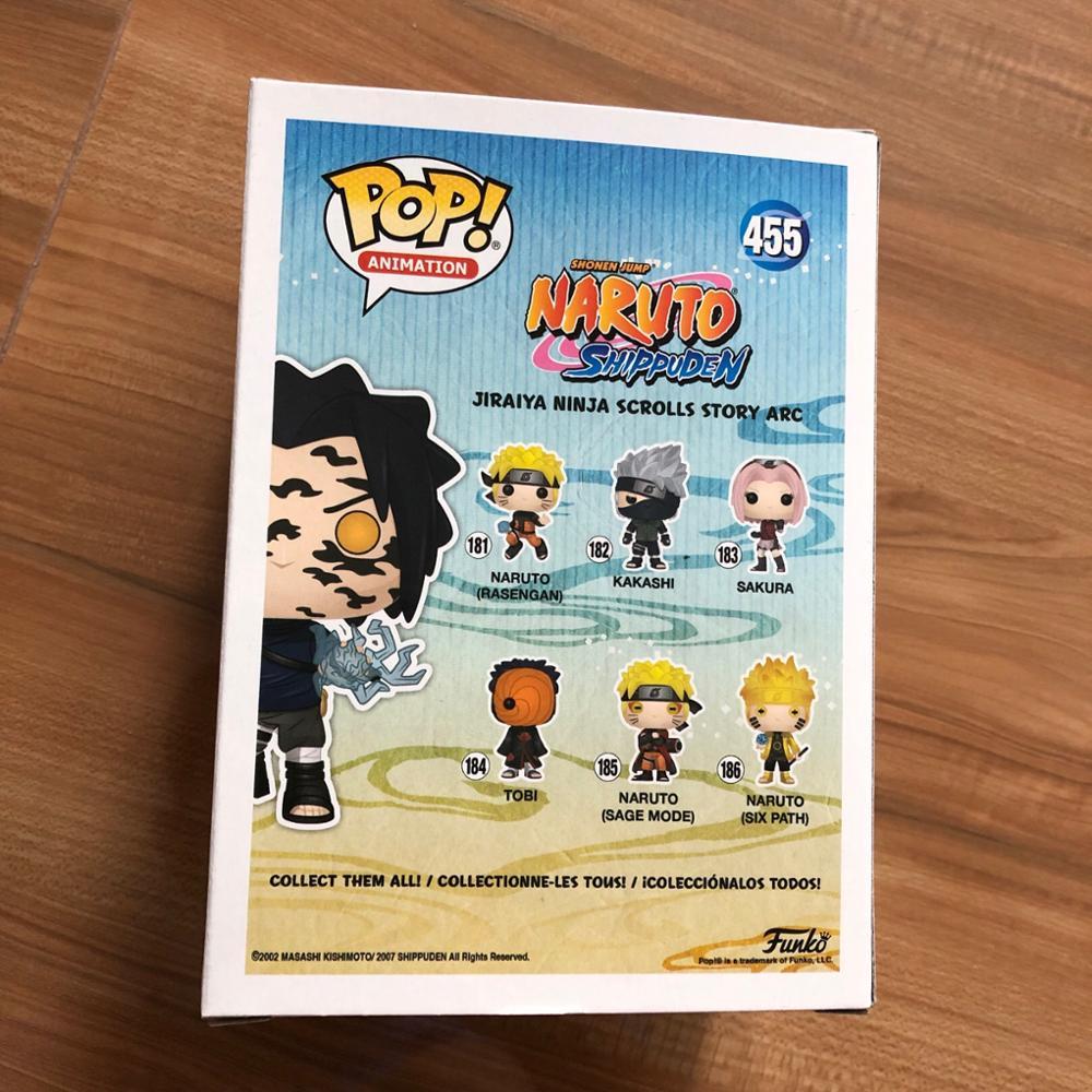 Naruto Sasuke maledizione Mark ANIMAZIONE POP esclusivo 9 cm