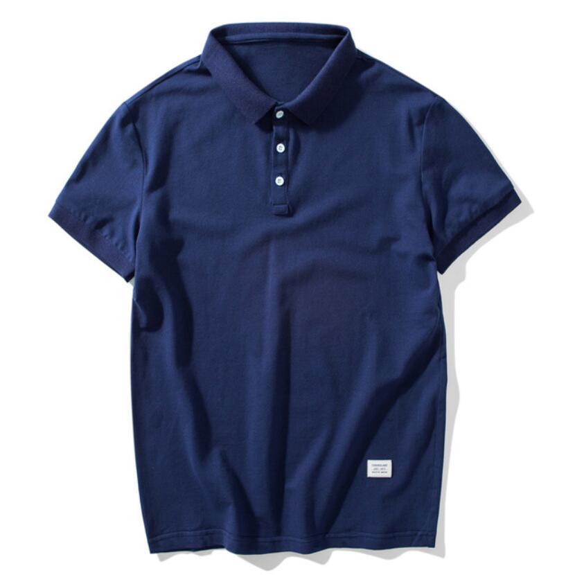 2019 New  Shirt Men Summer Hot Sale Casual Outwear Solid Short Sleeve Shirt Male Breathable Mens Tee Shirt
