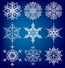 AZSG Different Christmas Snowflake Clear Stamps For DIY Scrapbooking/Card Making Decorative Silicon Stamp Crafts