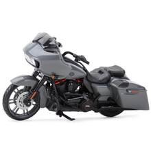 Maisto 1:18 2018 cvo estrada glide morrer cast veículos colecionáveis hobbies motocicleta modelo brinquedos